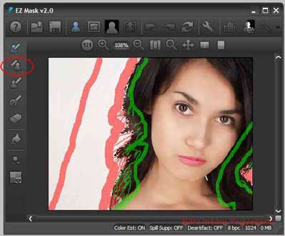 Cara mengganti background foto dengan plugin